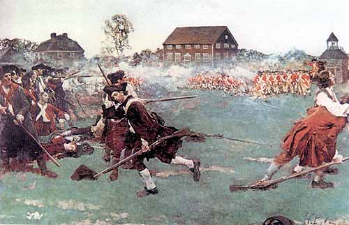 who fired first at lexington and The first shot was fired eleven years before lexington-concord was no  spontaneous thing it started more than a decade before, in 1764, after.